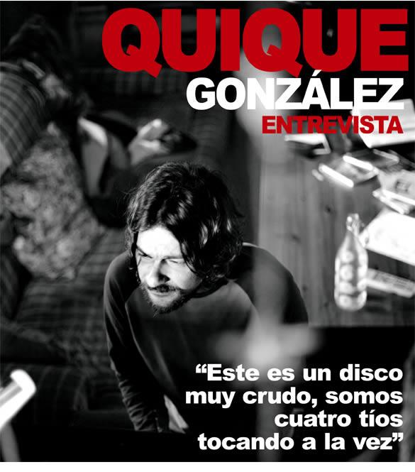 Entrevista:Quique González