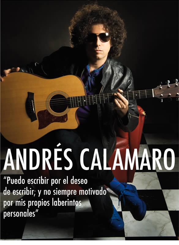 Andrés Calamaro. Entrevista