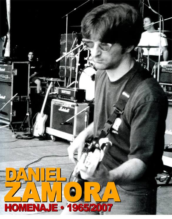 Homenaje a Daniel Zamora