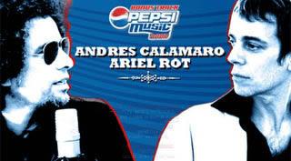 Descárgate gratis uno de los conciertos del año pasado de Andrés Calamaro y Ariel Rot