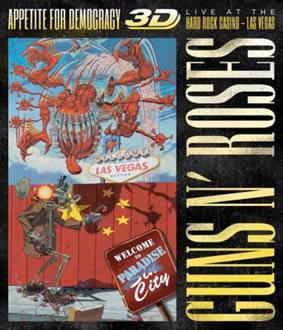 Se publica en 3D un concierto de Guns N' Roses