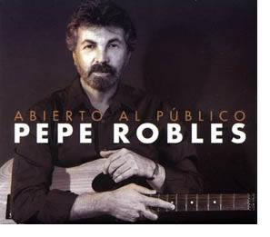Pepe Robles publica su segundo álbum en solitario