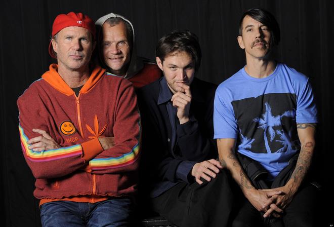 Flea, Anthony Kiedis, Chad Smith, Josh Klinghoffer