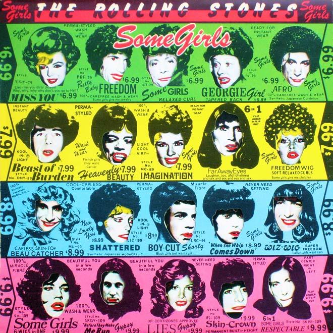 """Las mejores portadas del rock: The Rolling Stones, """"Some Girls"""""""