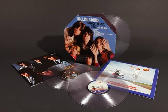 Los Rolling Stones En Vinilo Transparente