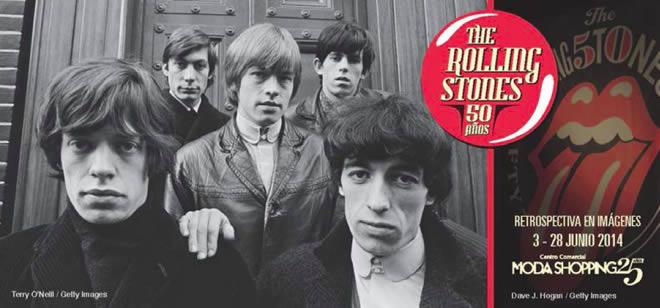 Una exposición fotográfica en Madrid celebra los 50 años de los Rolling Stones