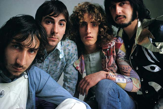 File image of rock legends The Who