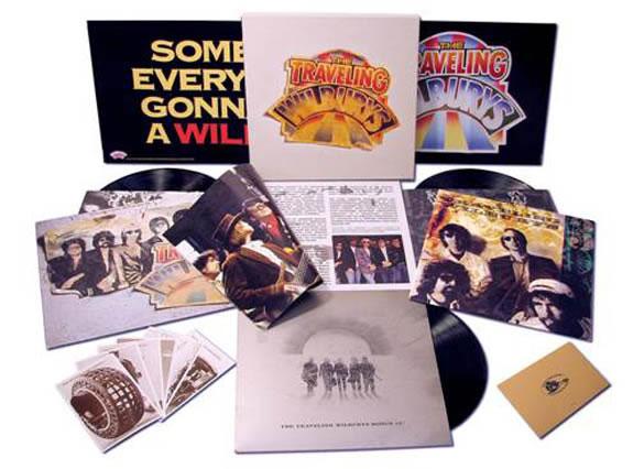 Todos los discos de los Traveling Wilburys en vinilo