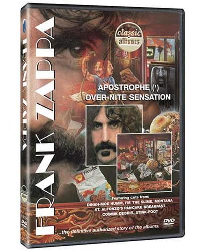 Frank Zappa documentado y en DVD